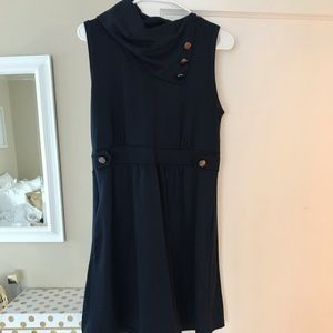ModCloth Navy dress with buttons